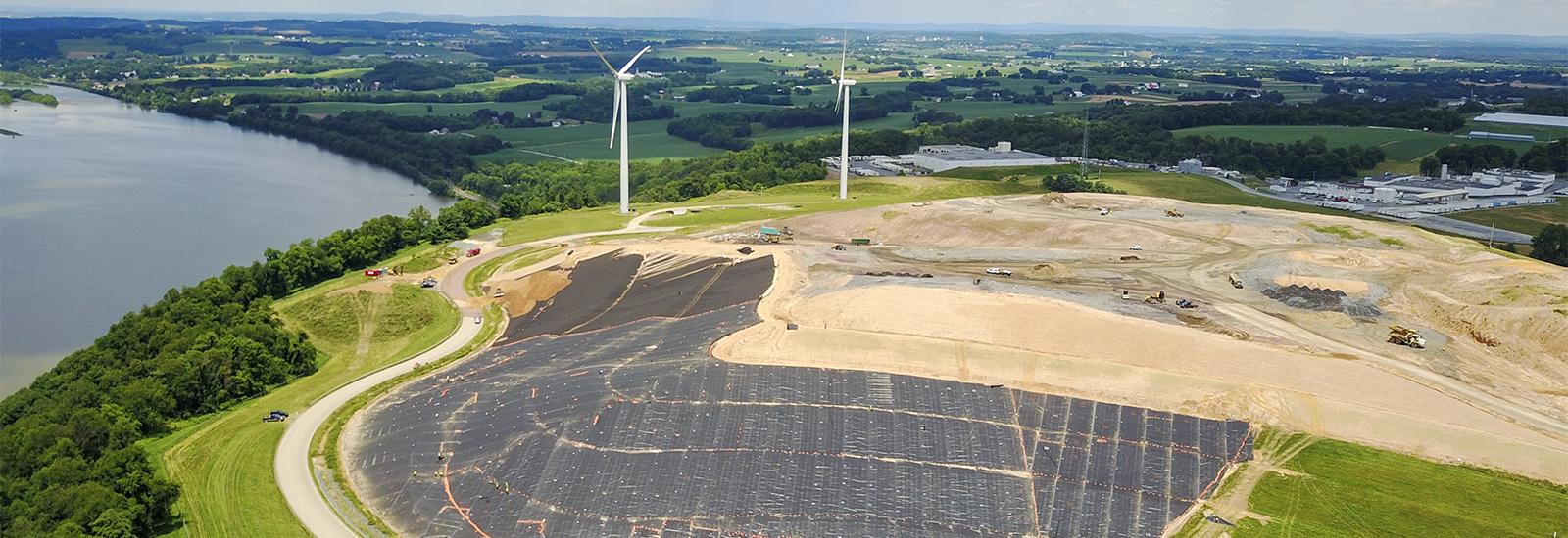 Frey Farm aerial