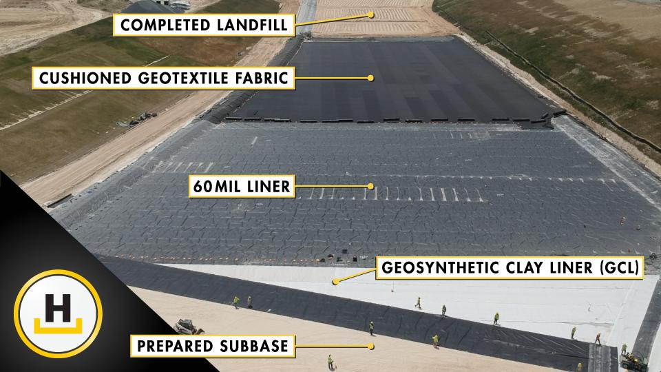 landfill liner system